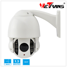 WETRANS IPPTZ907-1.3MP 4 inch Indoor Outdoor High Speed PTZ Camera 50m IR 1/3″ CMOS 960P IP High Speed Dome Camera