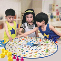 Puzzle Kids Detectives Looking Chart Board Game Plastic Puzzle Brain Training Education Game Kit Learning Gifts for children
