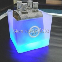 Plastic square led ice bucket capacity 3 5l double layer event club bars led beer colorful.jpg 250x250