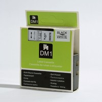 Free shipping 10 pcs/lot 9mm*2.5m compatible Dymo Rhino black on white Heat Shrink Tubes 3/8 RS5W SKU 18053
