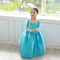 Girl Dresses Princess Children S Clothing Anna Elsa Cosplay Costume Kids Party Dress High Quality Baby