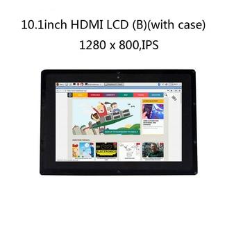 10.1inch HDMI LCD (B) 1280*800 Capacitive Display Monitor,IPS Touch Screen,For Raspberry Pi,Banana Pi,BB Black WIN10