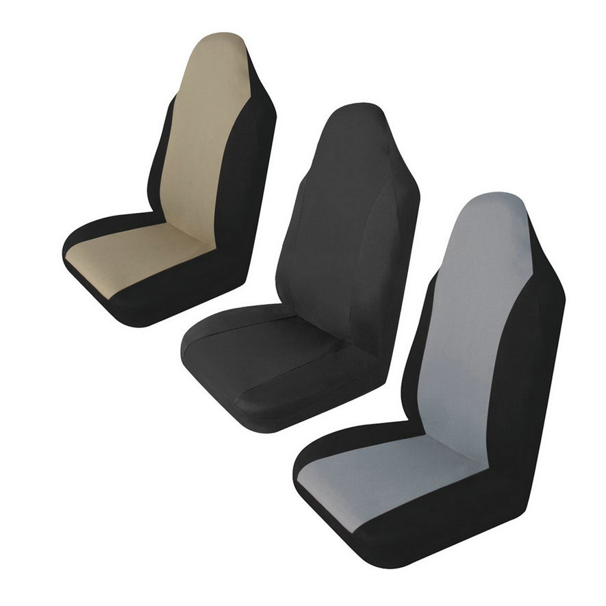 2018 Newest Universal Car Front Rear Seat Covers Cushion Pad for Crossovers SUV Sedan Drop shipping