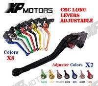 CNC Long Adjustable Brake Clutch Lever For Yamaha FZ07 FZ 07 MT 07 MT07 FZ 09