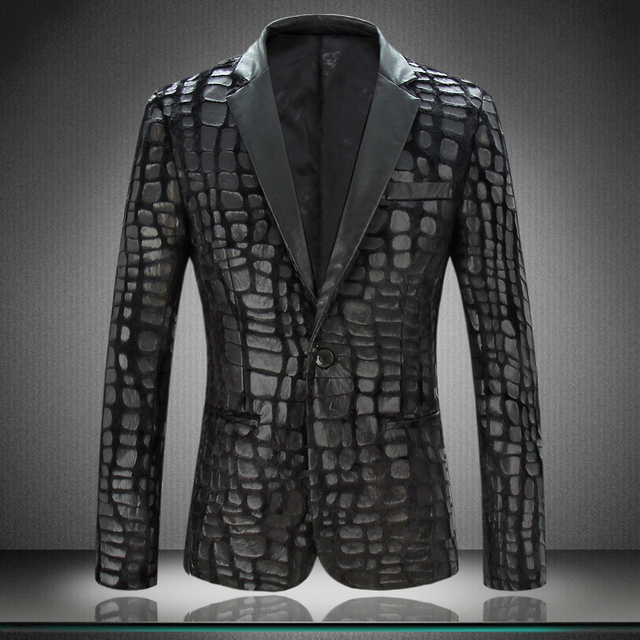 Aliexpress.com : Buy Men Blazer Jacket 2017 New Arrival Mens ...