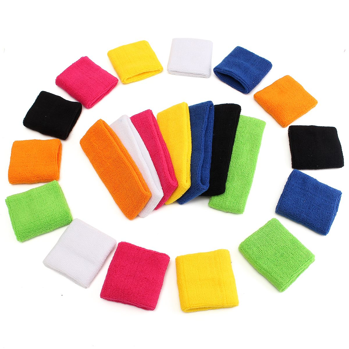 New 3pcs/set Wristband+Headband Tennis/Basketball/Badminton Wrist Support Sports Protector Sweatband Cotton Gym Wrist Guard