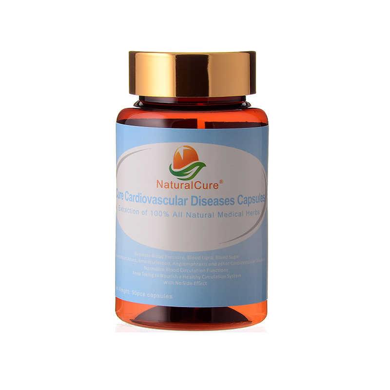 Капсулы NaturalCure для лечения сердечно сосудистых заболеваний экстракт растений