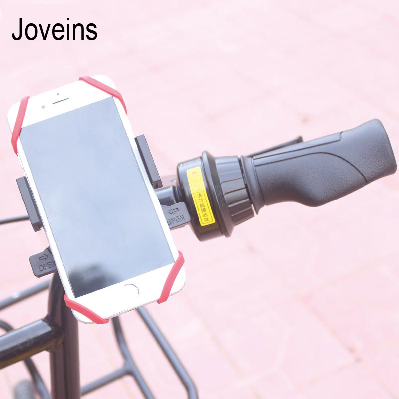 JOVEINS Bicycle Bike Phone Holder Antiskid 360 Rotating Cell Phone Stand Mount For iPhone X 8Plus 8 7Plus 7 6s 6 Samsung s9
