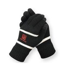 1 Pair Winter Gloves Knit Mitten Anti-slip Touch Screen Gloves Wool Magic Warm Gloves for Women Men