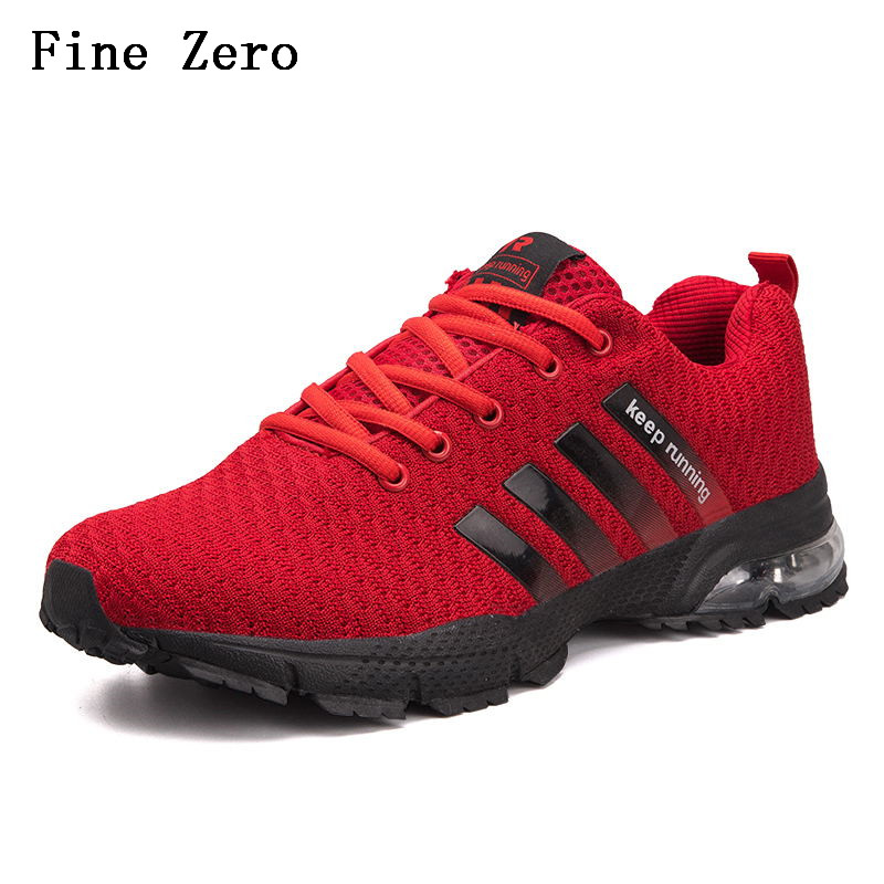 Fine Zero running shoes men's and women's high to help shock absorption sneakers breathable lightweight air outdoor running T60