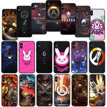 Overwatch Game Mềm Cover Cho iPhone XS 11 Pro Max XR X 7 8 6 6S 6S Plus(China)