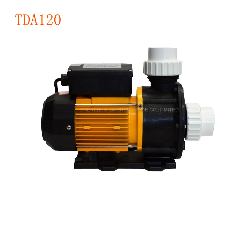 1pieces TDA120 Type Spa Water Pump 220v 1.2HP Water Pumps for Whirlpool, Spa, Hot Tub and Salt Water Aquaculturel 6162 63 1015 sa6d170e 6d170 engine water pump for komatsu