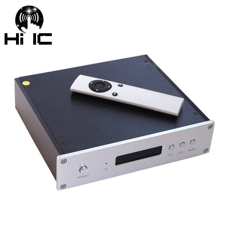 Hifi Es9038pro/es9028pro Amanero Usb Dac 32bit/384 K Dsd 64/128/256 Xlr Ausgang Mit Fernbedienung Digital-analog-wandler