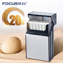 FOCUS 20 шт. чехол для сигарет влагостойкий ABS пластиковый чехол для сигарет курительный аксессуар Ультратонкий чехол для сигарет подарок для м...