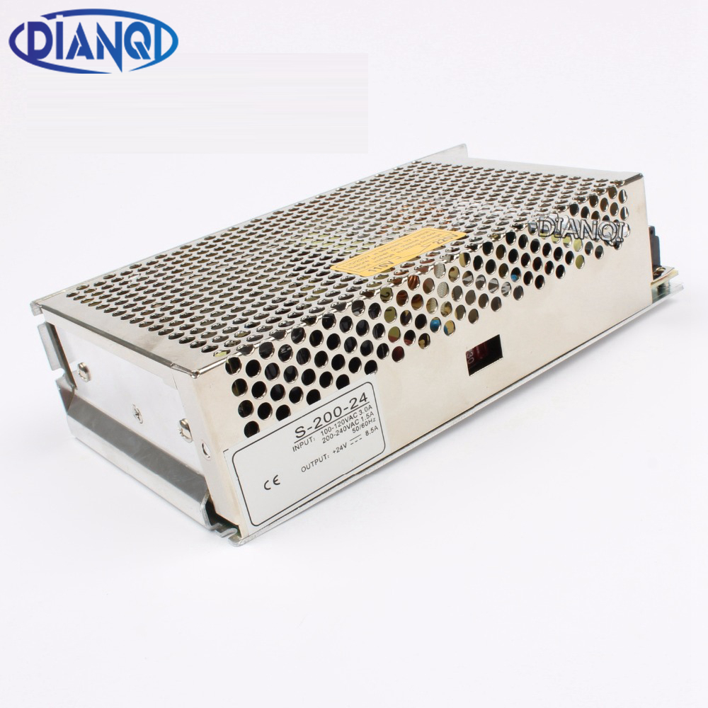 DIANQI power supply 200w 5V 12V 15V 24V 36V 48V power suply 200w ac to dc power supply unit ac dc converter high quality led power suply 13 5v 201w ac to dc switching power supply ac dc converter high quality s 201 13 5v free shipping