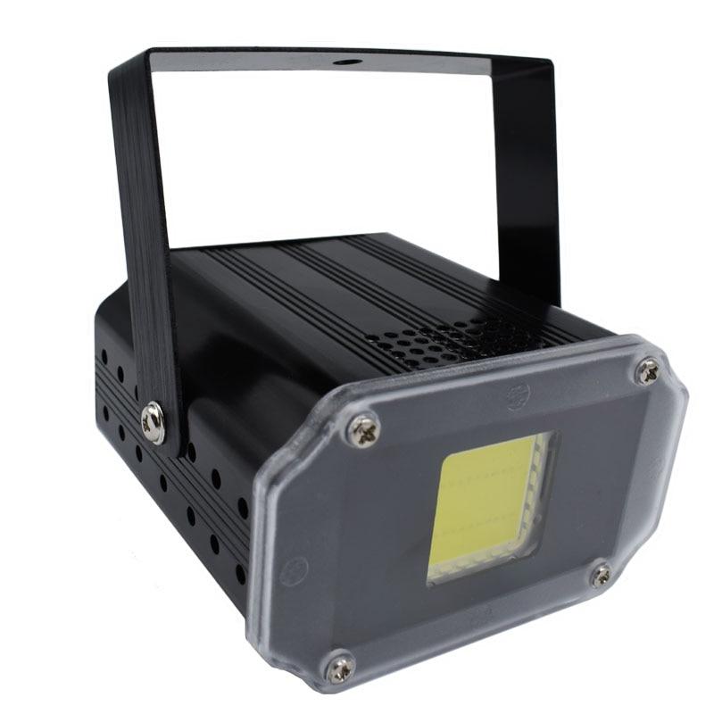 Hight Helligkeit 20 Watt LED Blitzlicht Weiße Farbe Disco DJ Diskothek Show bühnenbeleuchtung mini strobe DJ Disco Licht
