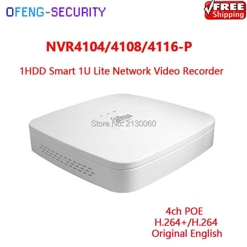 【ᗑ】Dahua <b>NVR</b> dh-nvr4104-p, Dahua мини 1u 4 POE Порты HDMI ...