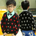 2017 cardigan kids spring and autumn boys sweater child cardigan outerwear skull shirt dawlish kid sweaters,zc