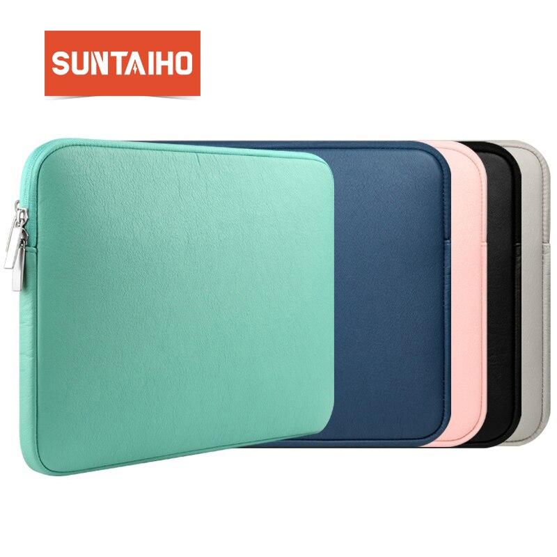 NOVINKA PU kožená vodotěsná taška na notebook s rukojetí - Příslušenství pro notebooky
