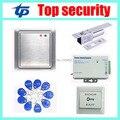 Tarjeta RFID de control de acceso independiente a prueba de agua sistema de panel de control de la puerta de control de acceso independiente