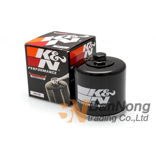 Motocicleta KN filtro de la máquina de Aceite Del Motor Para Suzuki AN650 GSF600 Bandido 650 1200 1250 GSXR600 GSXR750 GSXR1000 M109R M800