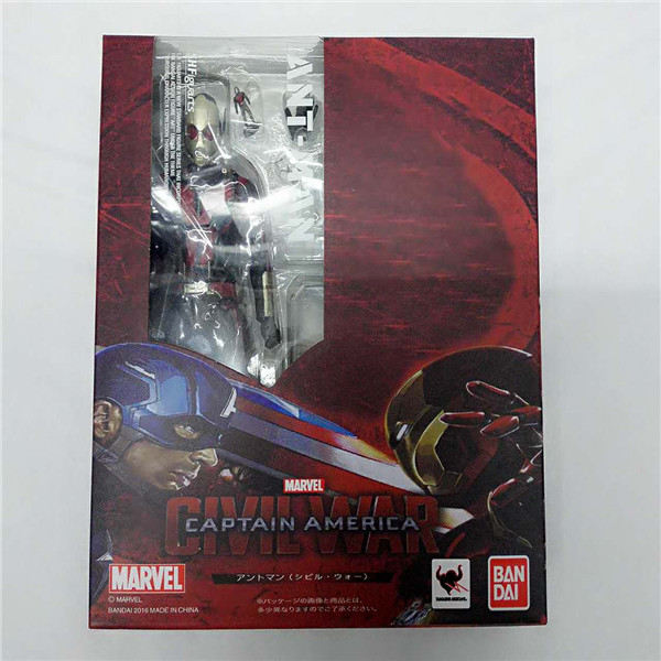 SHFiguarts Captain America Civil War Black Panther / Ant Man PVC Action Figure Collectible Model Toy marvel captain america civil war scarlet witch black panther winter soldier falcon pvc action figure collectible model toy
