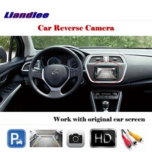Liandlee For Suzuki SX4  Hatchback / Auto Rear View Rearview Camera Back Parking Work with Car Factory Screen