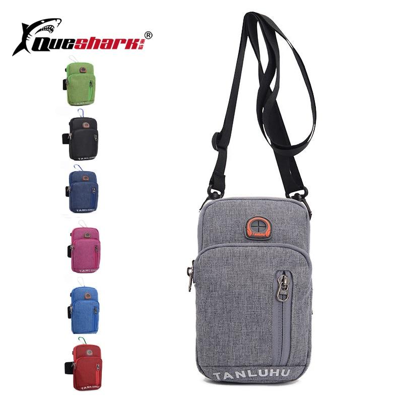 2 IN 1 Fitness Running Arm Bag Reflective Multi-use Singer Shoulder Phone Sport Bag Men Women Mobile Phone Bag Below 7inch