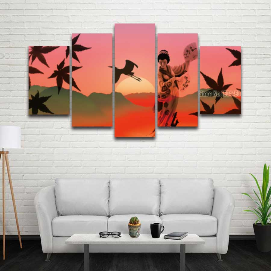 Japanese Home Decor Store: Aliexpress.com : Buy Printed Japanese Art Landscape