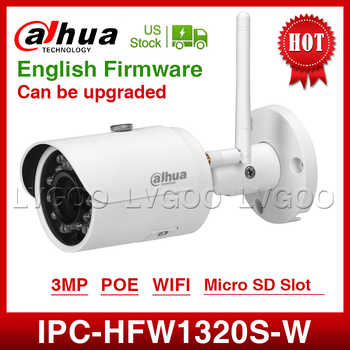 DaHua wifi  IPC-HFW1320S-W 3MP Mini Bullet IP Camera infrared CCTV Camera IP67 Security Camera replace IPC-HFW1431S With logo - DISCOUNT ITEM  0% OFF All Category