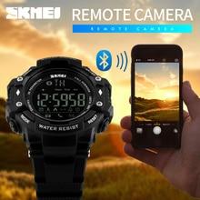 font b Smartwatch b font SKMEI Men Smart Watch Fashion Sports Watches Pedometer calorie Bluetooth
