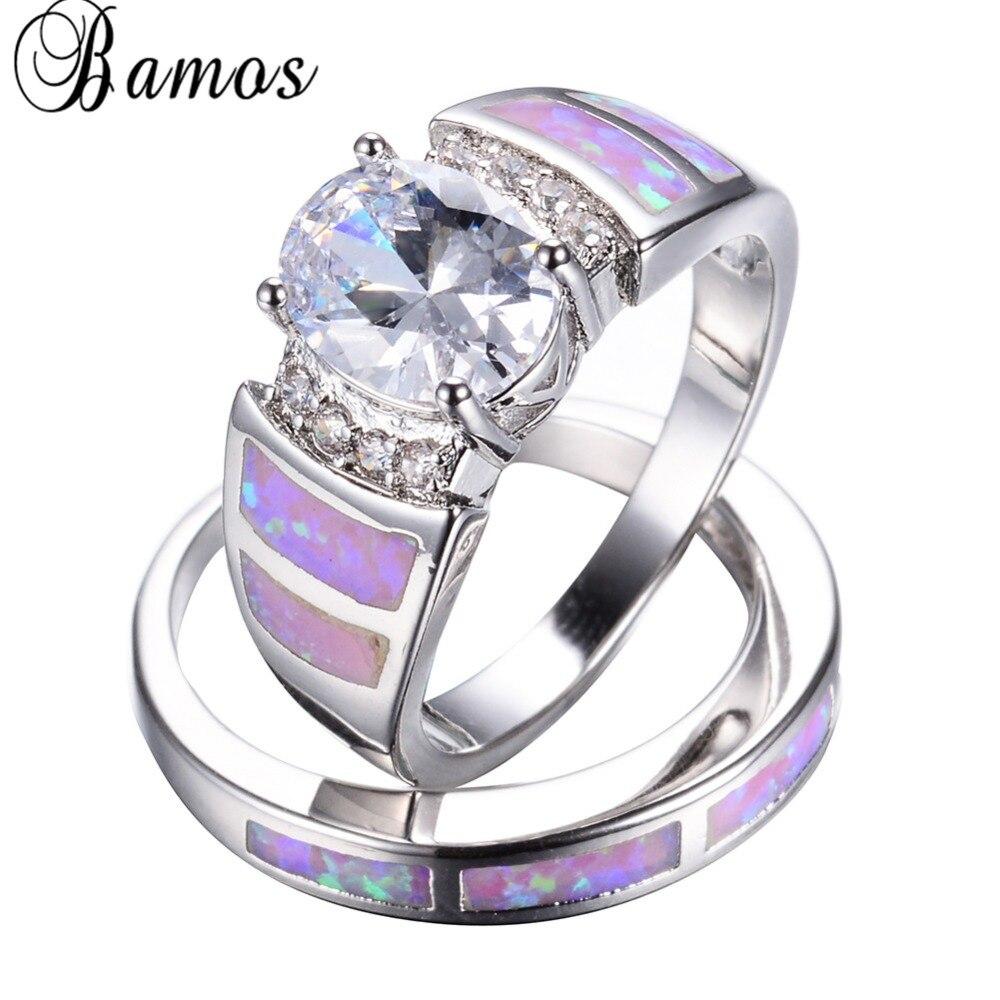 mens opal ring opal wedding ring sets Australian Opal Wedding Ring in 14k gold by Hileman