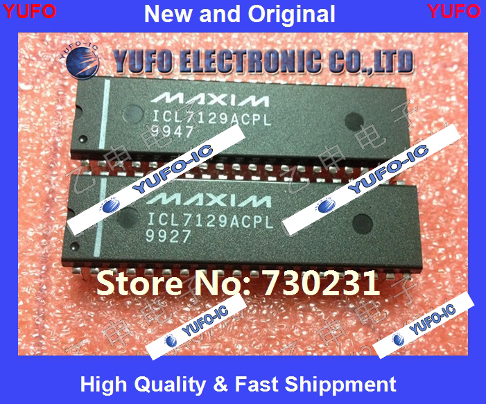 Бесплатная доставка 2 шт. ICL7129ACPL филиппинского происхождения} {обеспечения качества YF1004 ...