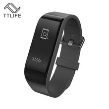 TTLIFE 2016 Smart Band монитор сердечного ритма Bluetooth 4.0 Браслет фитнес-трекер наручные smartband для IPhone Xiaomi PK mi Группа 2