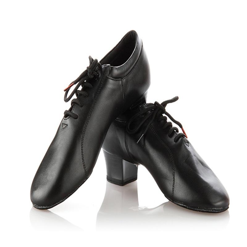 Profesjonell myk kohud Latin dansesko Kvinne ekte lær jazz sko lærer aerobic dansende sneakers 100% ekte BD419