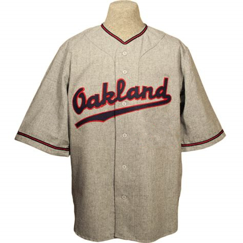 d66719eb0 Custom Oakland Oaks 1954 Authentic Road Jersey Stitched Sewn Any Name Any  Number Baseball Jersey Size XS 6XL-in Baseball Jerseys from Sports    Entertainment ...