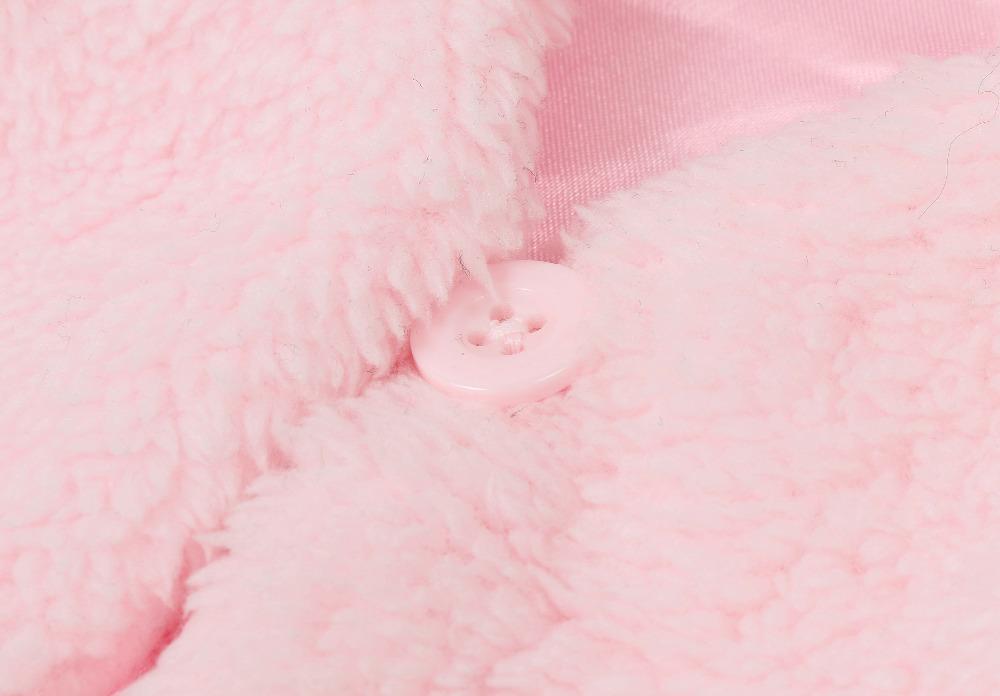 79863d005 Autumn Winter Baby Girls Vest Outwear Coat Infant Kids Girls V Neck ...