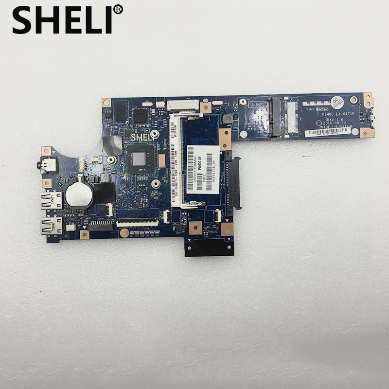 SHELI FOR DELL 9h2f5 09h2f5 LA 6471P Inspiron Duo 1090 laptop motherboard N570 DDR3 tested|Motherboards| |  - title=