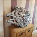 DHL в наличии 05132 Звездный Разрушитель Сокол миллениума 75192 Кирпичи Модель Строительные блоки Развивающие игрушки войны