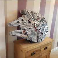 LP in stock 05132 Star Destroyer Millennium Falcon 75192 Bricks Model Building Blocks Educational legoed Toys WARS