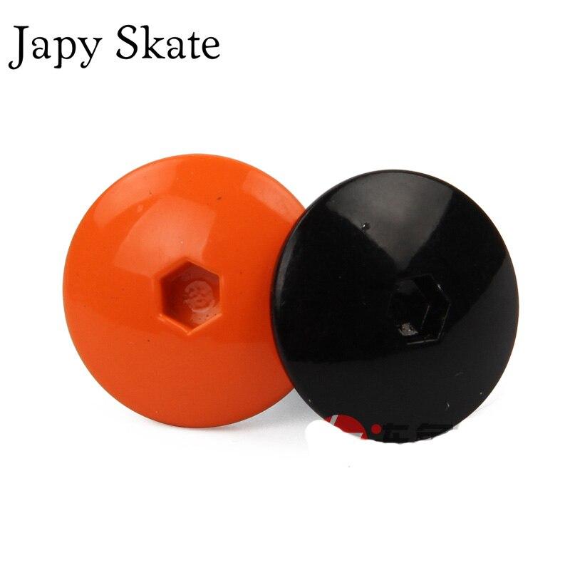 Prix pour Jus japy Skate 2 pcs D'origine Powerslide EVO Manchette Bouton Inline Chaussures De Patinage Manchette Vis Pour Powerslide EVO Inline Patins Patines