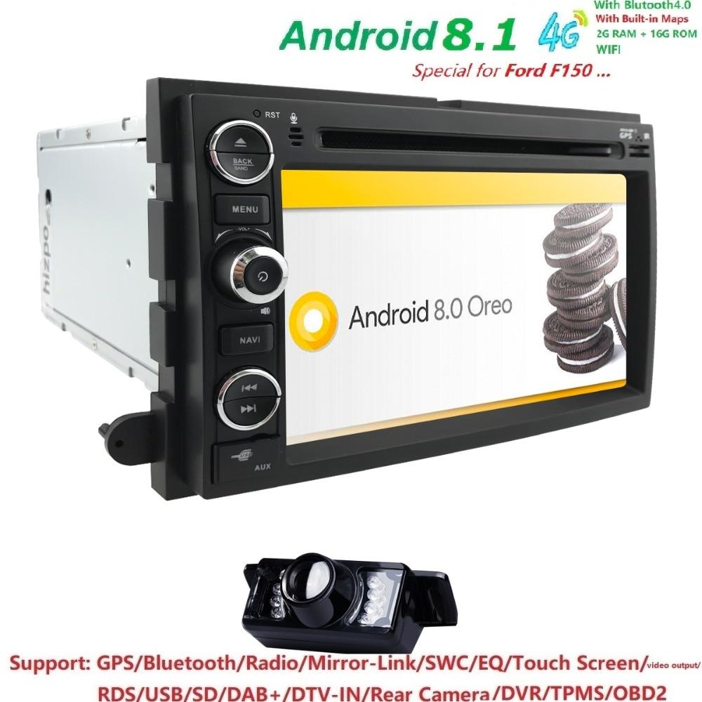 HD 1024 * 600 Android8.1 Car DVD GPS Player dla Ford F150 EXPEDITION, - Elektronika Samochodowa - Zdjęcie 2
