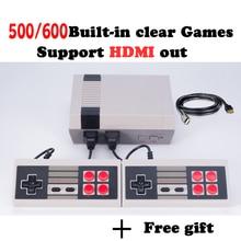 HD HDMI Игровая консоль ретро мини портативная игровая консоль семья игровая ТВ-приставка со встроенными 500/600 играми hd мини консоль