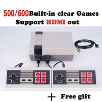 HD HDMI Konsola Do Gier Retro Mini Handheld Konsoli do Gier Wideo rodzina TV Gry Gracz Z Wbudowanym 500/600 Gier hd mini konsola