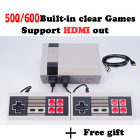 HD HDMI Oyun Konsolu Retro Mini El Video Oyun Konsolu aile TV Oyun Oyuncu Dahili 500/600 Oyunlar Ile hd mini konsol