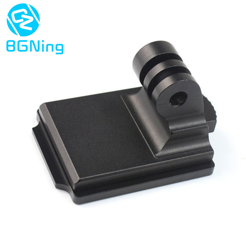 Aluminum Helmet Fixed Mount NVG Base Holder Adapter for GOPRO Hero 1 2 3 3+ 4 5 Session yi Sjcam Cameras h020 universal 1 4 screw helmet mount holder for dv suptig gopro hero 4 2 3 3 black page 3 page 3 page 2 page 1 page 2