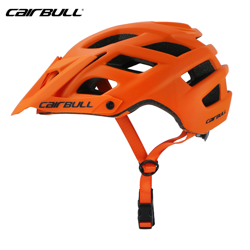 CAIRBULL TRAIL XC Road Bike Helmet MTB enduro Mountain All-terrai OFF-ROAD Cycling Helmets Ultralight Safety BMX Bicycle Helmet child bicycle helmet safety mountain road bike helmet for skating skateboard climbing mtb bmx cycling helmet orange l