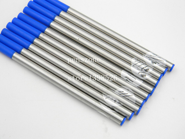 10pcs jinhao Top quality Blue Ink refill For RollerBall Pen 4