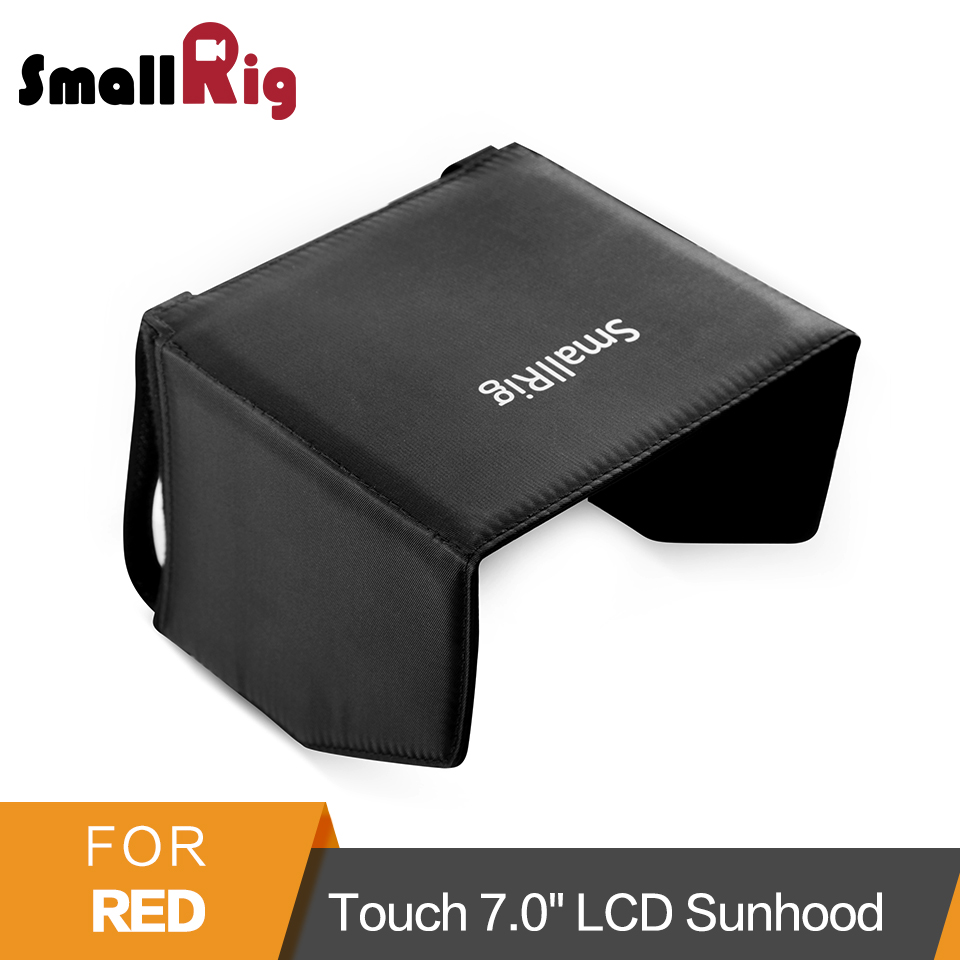 SmallRig 7 Monitor Sun Hood Camera Sunshade for Red Touch 7.0 LCD/ Red Pro Touch 7.0 LCD/DSMC2 Red Touch 7.0LCD Hood - 2034 new 9 7 inch fpv monitor sunshade sun hood for tablet ipad