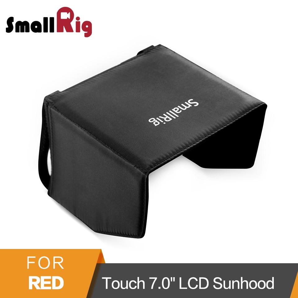SmallRig 7 Monitor Sun Hood Camera Sunshade for Red Touch 7.0 LCD/ Red Pro Touch 7.0 LCD/DSMC2 Red Touch 7.0LCD Hood - 2034